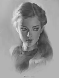 Portrait study 1 by Naranb