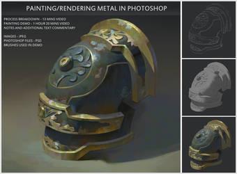 Painting/Rendering metal tutorial by Naranb
