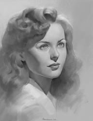 Portrait study by Naranb