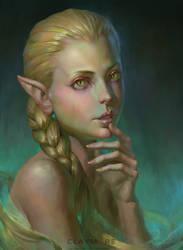 Ophelia by Naranb