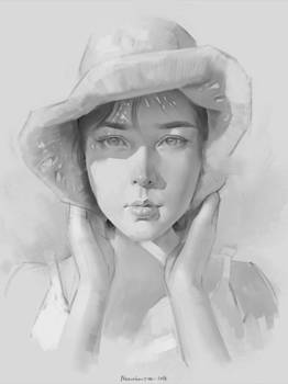 Portrait study Asian