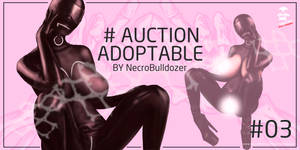 bdsm slave girl  - ADOPTABLE AUCTION [OPEN] by NecroBulldozer