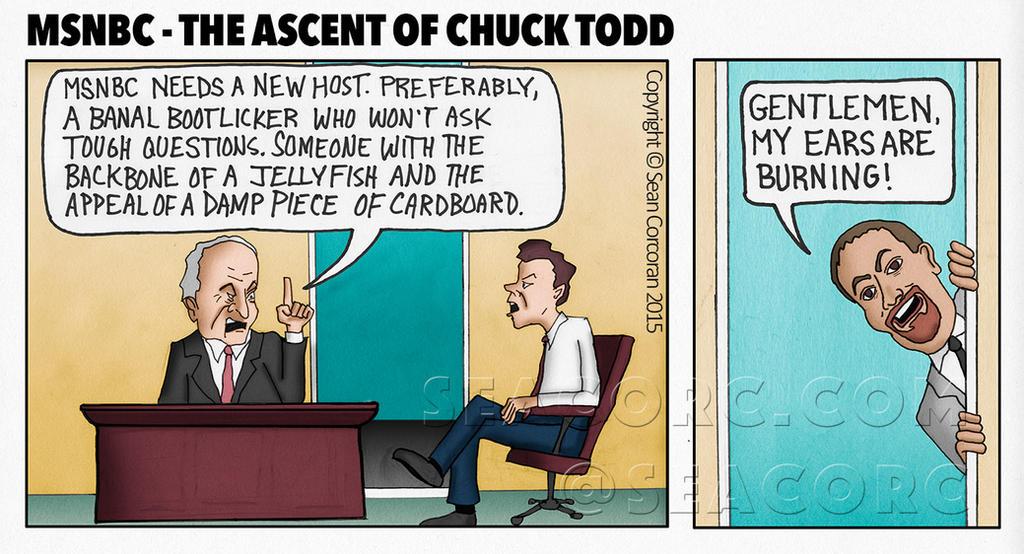 Chuck-Todd-Sucks by seacorc