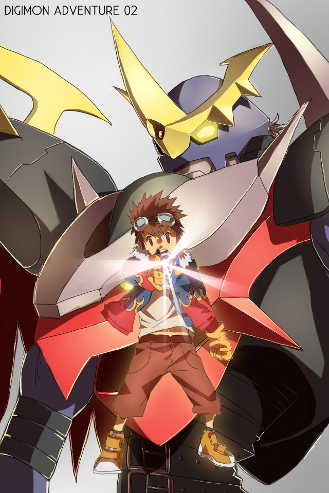 Digimon Adventure 02 by BondWithColors