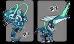 Adopt 64 : Mecha monster II | OPEN (1/2) by I5HIMARU