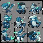 Adopt 75 : Baby Mecha monster | Close