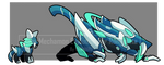 Baby mechmon Evo. For Rongstate by I5HIMARU