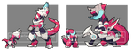 Baby mechmon Evo. For TheHonorlessRavage by I5HIMARU