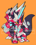 Mechamon Perfect form Evo. For RithTuracHarn by I5HIMARU