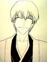 Bleach: Gin Ichimaru by yosmilee