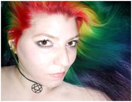 Self in Rainbow by lizzys-photos