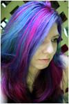 Blue + Purple + Pink