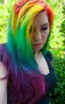 Long Rainbow Hair