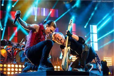 Brent Smith + Zach Myers, Shinedown by lizzys-photos