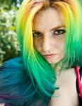 Rainbow Hair by lizzys-photos