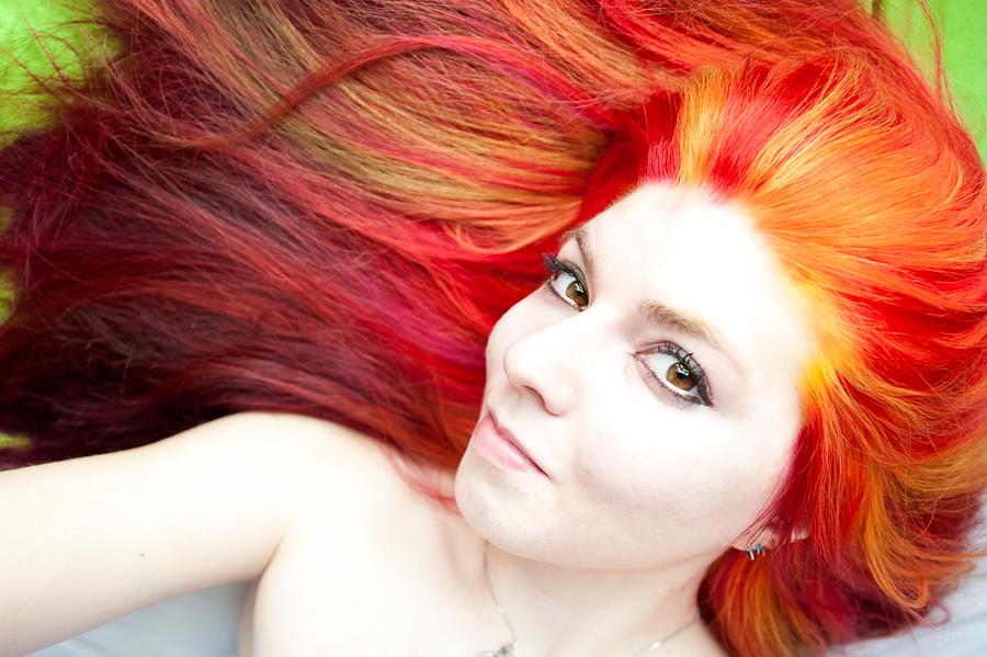 fire hair by lizzysphotos on deviantart