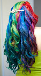 Curled Rainbow Waterfall by lizzys-photos