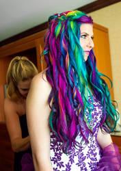 Rainbow Waterfall by lizzys-photos