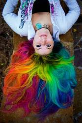 Human Color Wheel by lizzys-photos