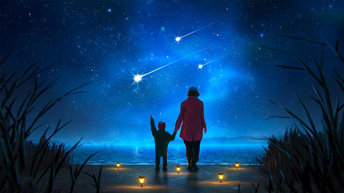 Look at those stars by bordukovsky