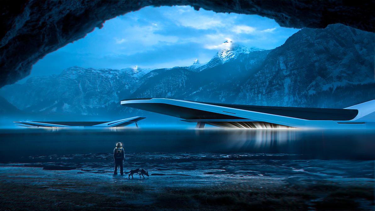 Hidden Lake by bordukovsky