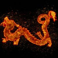 Fire Dragon by Tri-Edge-1836
