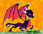 Cynder The Dragoness
