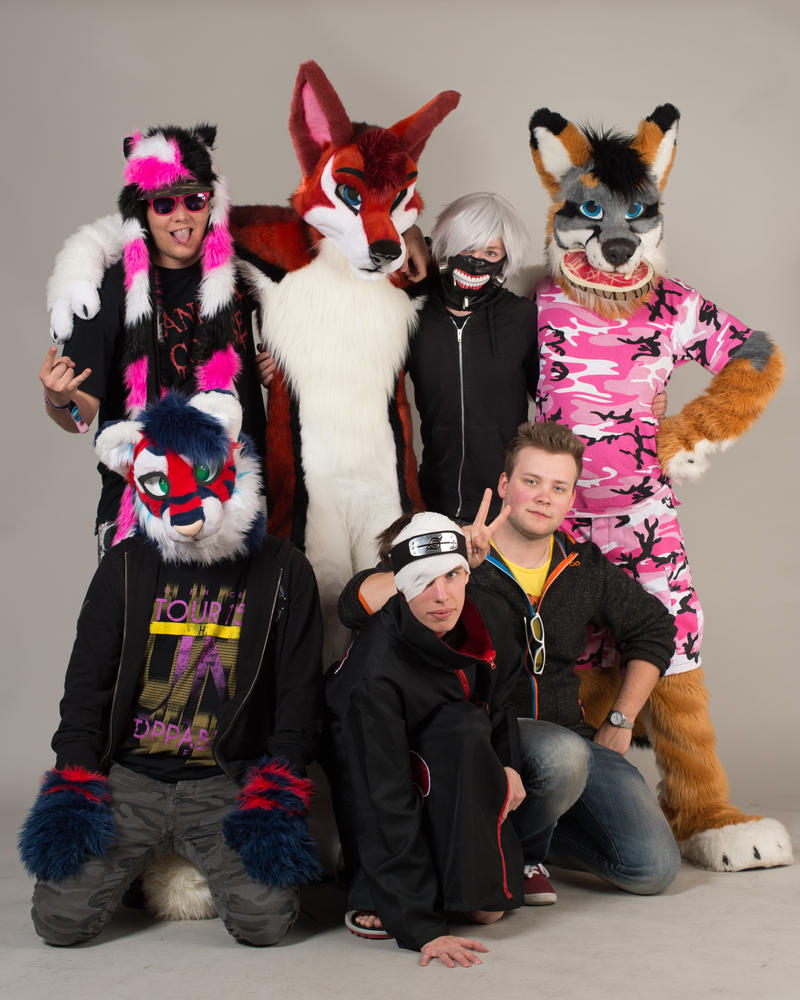 Desucon 2015: Furries and Akatsuki by cynderfan35