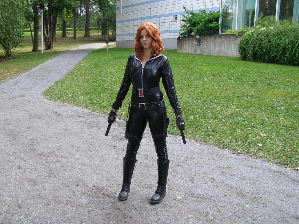 Tracon X: Black Widow by cynderfan35