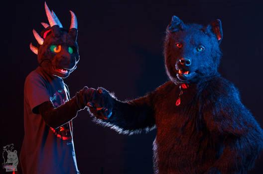 Finfur Animus 2018: Taranth and Berkwolf alliance