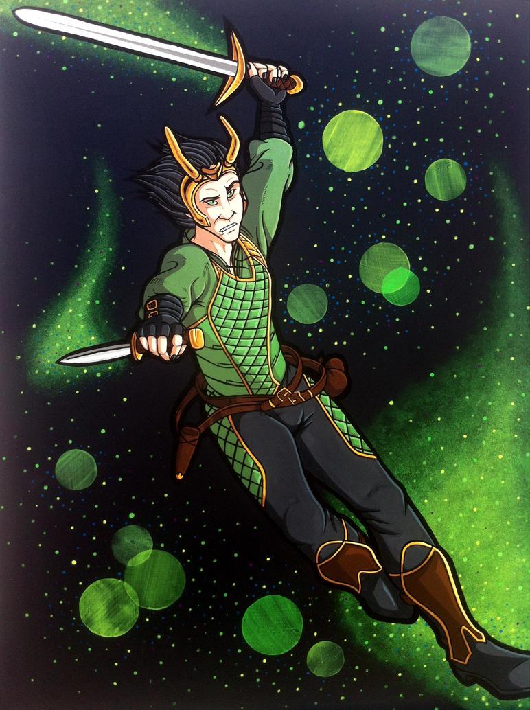 Agent Loki by loki-of-sassgard