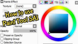 Tutorial - Paint Tool SAI by LokiOfSassgaard