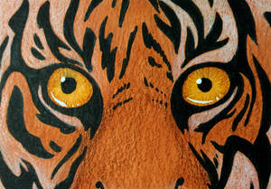 Tiger Art Card