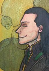 Loki Art Card