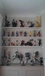 Final Fantasy Play Arts Setup by zelu1984