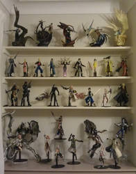 My Play Arts Figurs setup by zelu1984