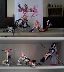 Final Fantasy XIII setup by zelu1984