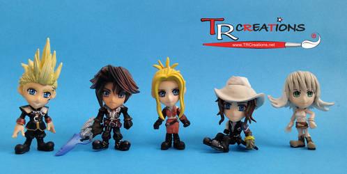 Final Fantasy VIII Trading Arts Kai mini