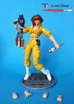 TMNT Classic April O'Neil custom figure finished
