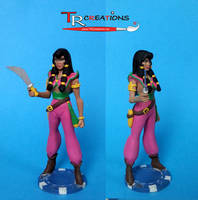 The Pirates of Dark Water - Tula Custom Figure by zelu1984