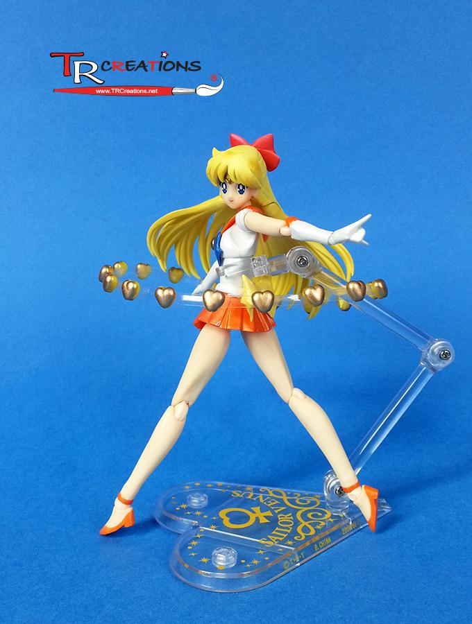Sailor Venus Venus Love Beauty Shock Figuarts By