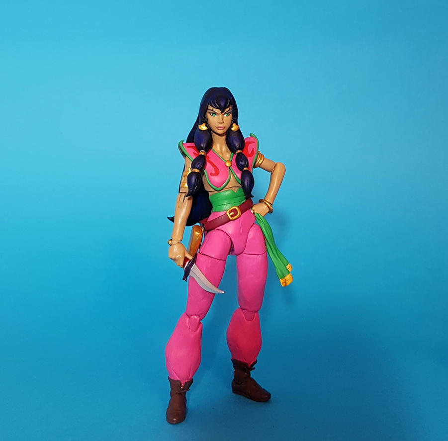 Pirates of Dark Water custom Tula figure by zelu1984
