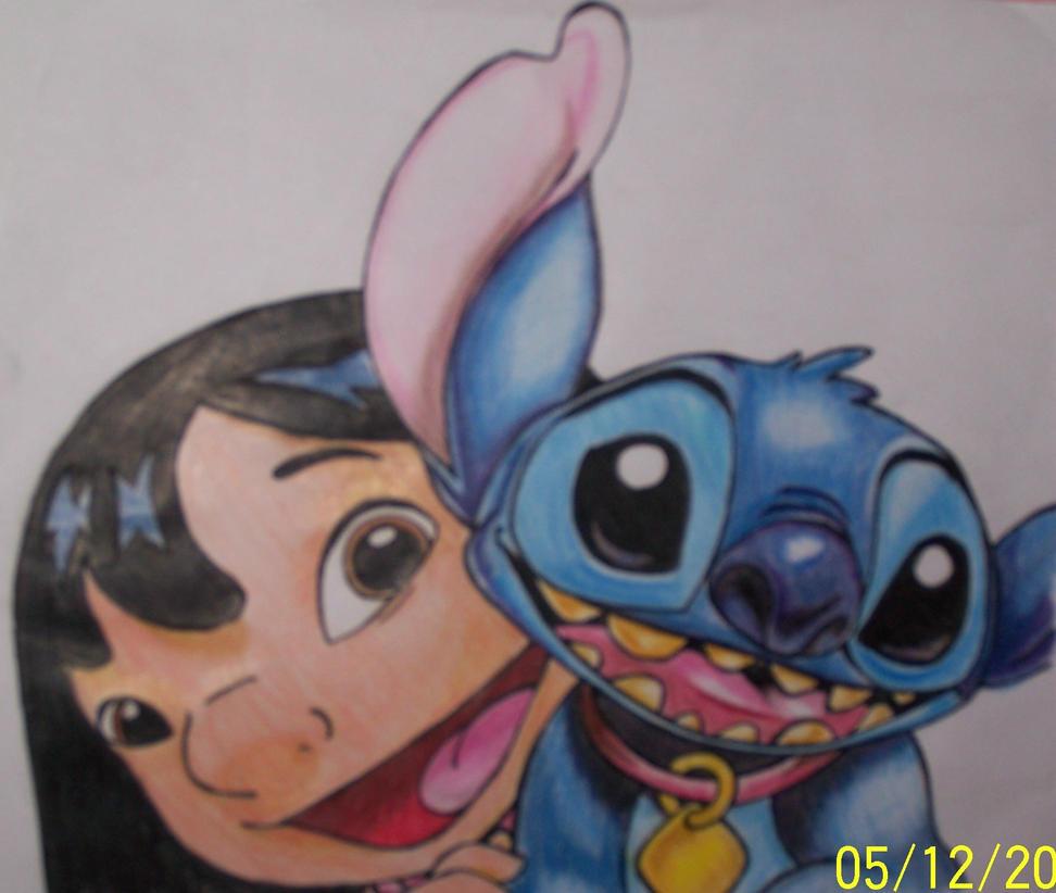 Lilo And Stitch By Pinaputlangpula
