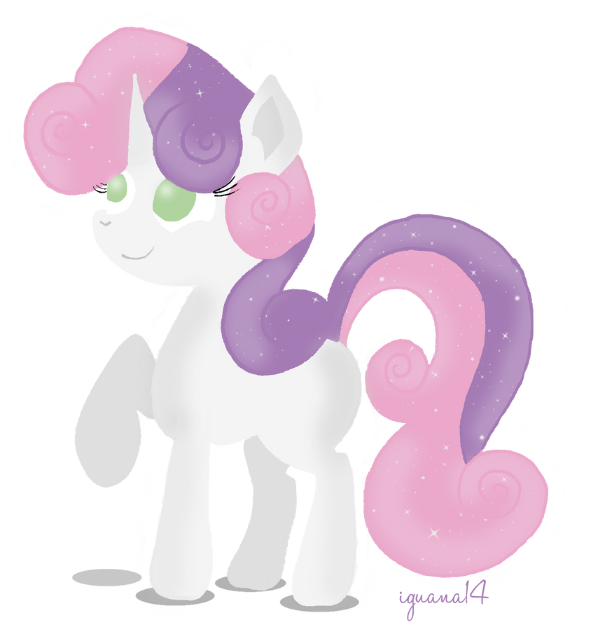 Sweetie Belle by iguana14