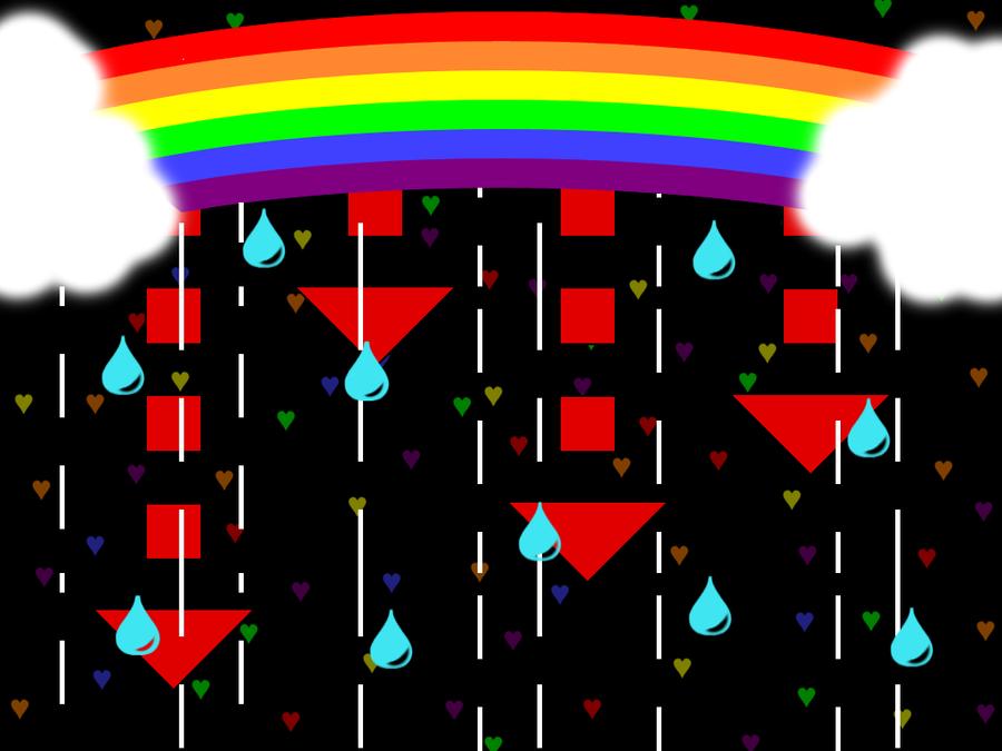 Cryin' Rainbow by twilightstarxx