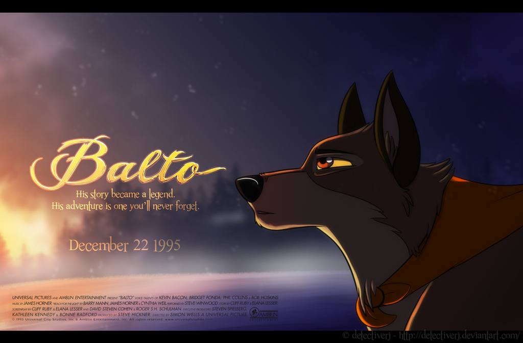 fake balto movie poster by detectiverj on deviantart