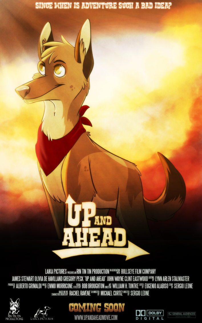 Up and Ahead: Fake Poster by DetectiveRJ