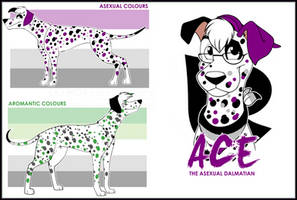Ace the Asexual Dalmatian by DetectiveRJ