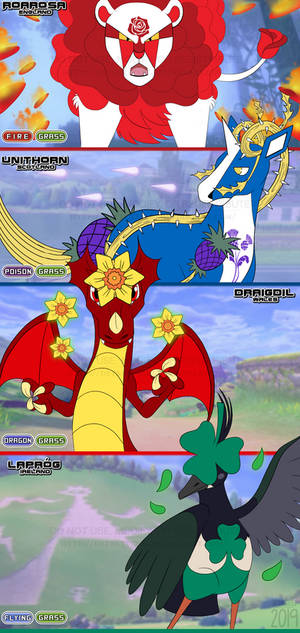Legendary Fakemon of Galar