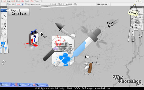 War Photoshop Tools